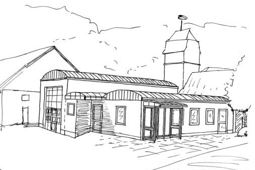 Planung des Bremker Bürgerhauses